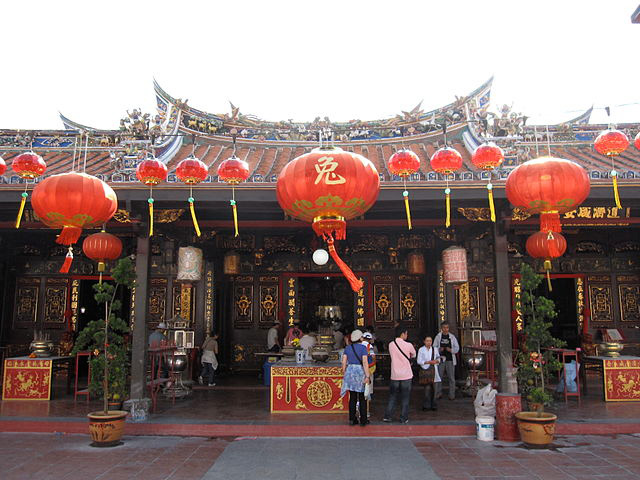 Malacca Attractions #2: Cheng Hoon Teng Temple.
