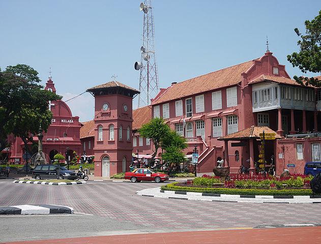 Malacca Attractions #3 - Dutch Square.