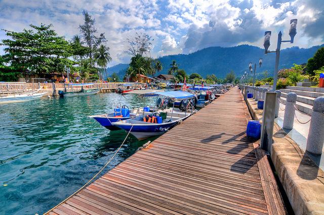 Kampong Tetek Jetty, Tioman Island