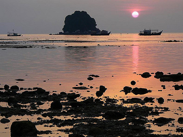 Sunset at Tioman Island.