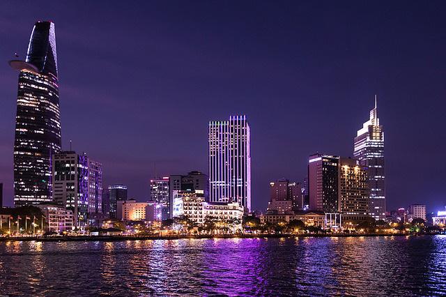 Ho Chi Minh City Night Scene