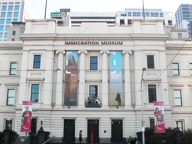 Immigration Museum Melbourne.