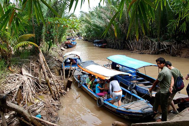 Mekong Delta Boat Tour.