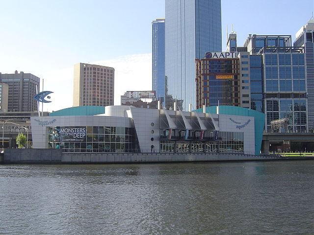 Melbourne Aquarium.