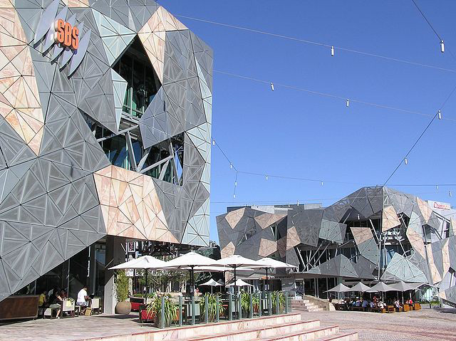 Federation Square, Melbourne.