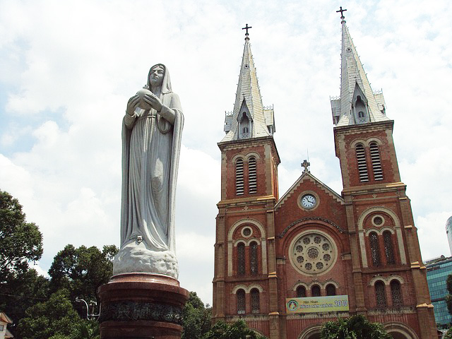 Notre Dame Cathedral Basilica of Saigon.