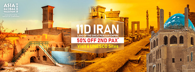 Asia Global Vacation - Iran 2018