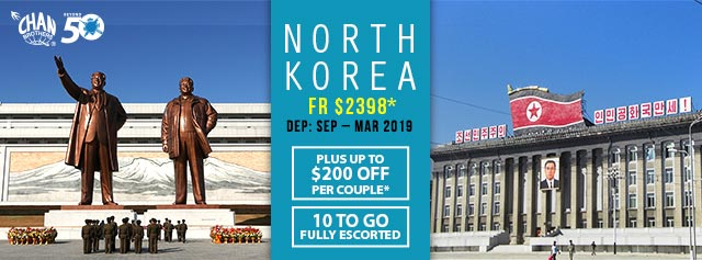 Asia Global Vacation - North Korea 2018