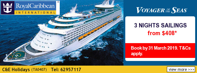 C & E Holidays Cruise Deal 2019