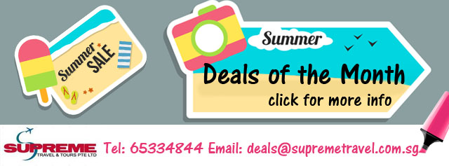 Supreme Travel - Deals of the Month