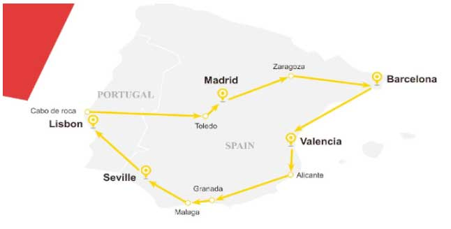 Best Spain Tour & Travel Packages from Singapore