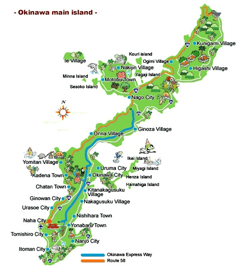 4 5d Okinawa Self Drive Land Only From Chan Brothers Travel