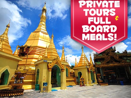 Myanmar Land Tour from Green Holidays