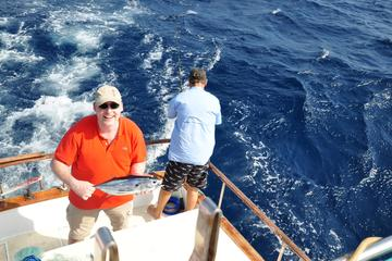 Half day private deep sea fishing trip in cura ao from viator for Half day fishing trips