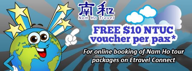 Nam Ho Travel $10 Free Shopping Voucher Promotion